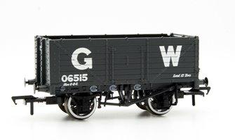 7 Plank End Door Wagon GWR Grey