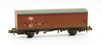 N Scale 29 Ton VBA Box Van BR Bauxite Weathered