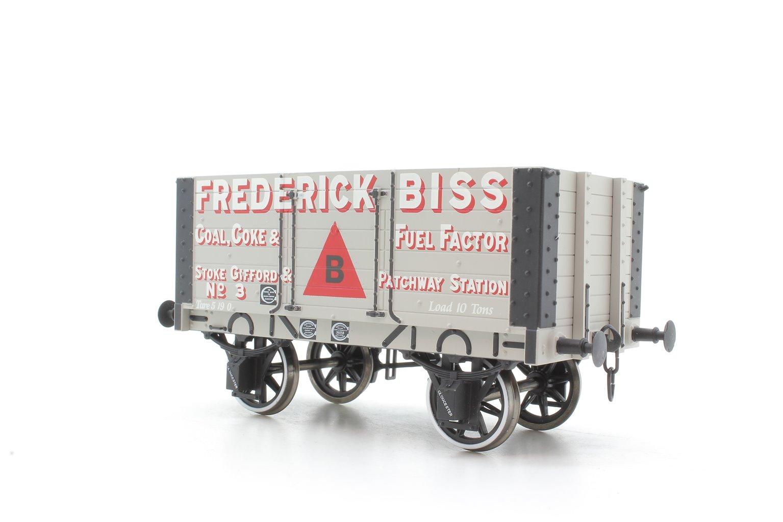 Dapol 7 plank open wagon with 9ft wheelbase - Frederick Biss, Stoke Gifford