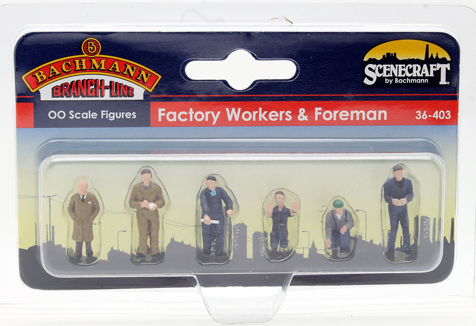 Factory Workers & Foreman
