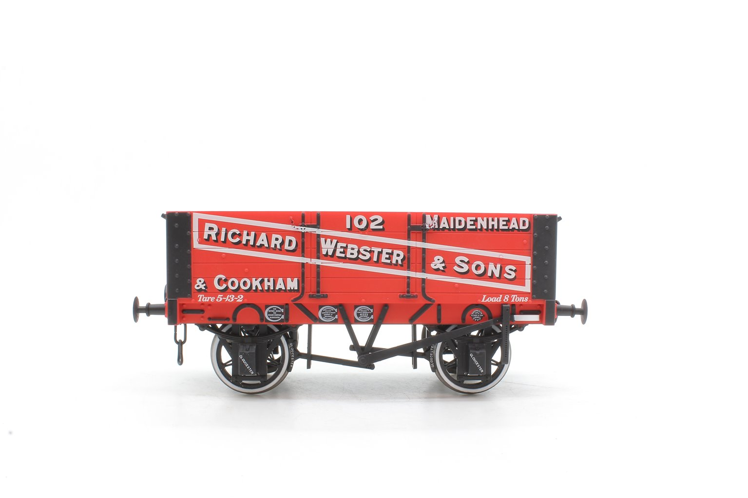 5-plank open wagon with 9ft wheelbase - Richard Webster and Sons
