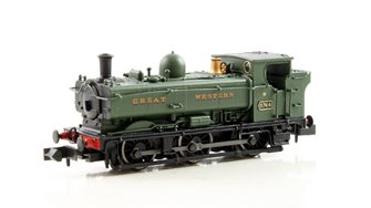 Class 57xx Pannier 0-6-0 #5764 in Great Western green