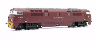 Western Harrier BR Maroon Yellow Buffer Beam D1008 - DCC FItted