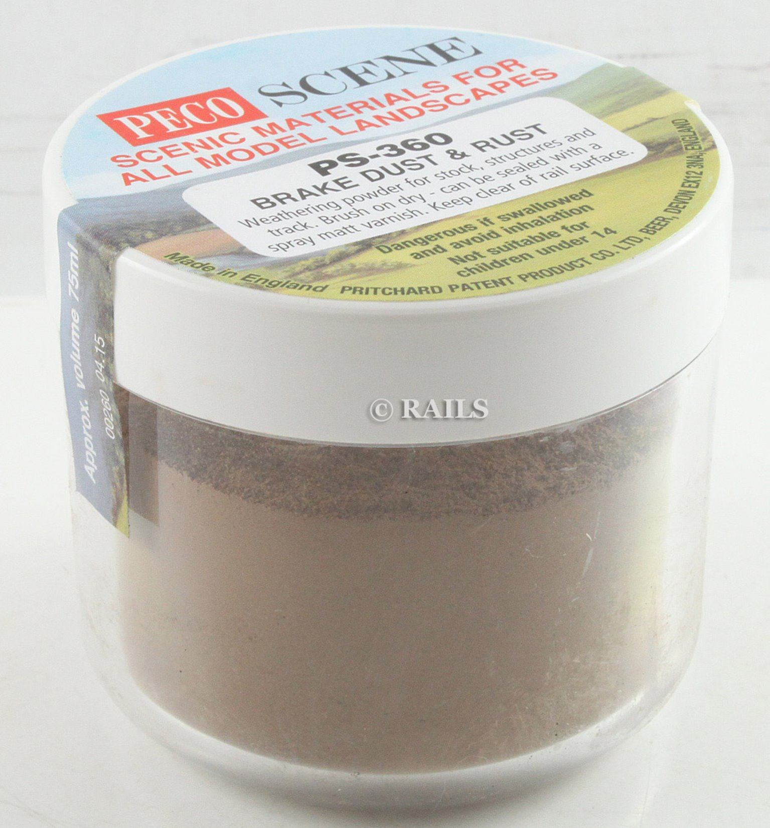 PecoScene Weathering Powder Brake Dust & Rust