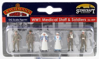 WW1 Medical Staff and Soldiers