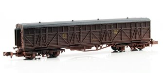 GWR Siphon G Wagon #1451 - Weathered