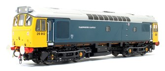 Class 25 912 BR 'Tamworth Castle' Ice Cream Van Livery with silver roof