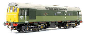 Class 25/3 - D7672 'Tamworth Castle' BR Special Two-Tone Green