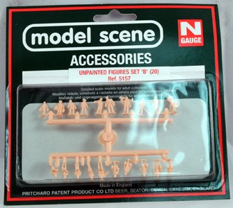 Modelscene 5157 Assorted Unpainted Figures Set B