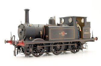 PRE-OWNED Dapol BR Black L/Crest 0-6-0 Terrier A1X Locomotive Weathered No.32661 (DCC Sound Fitted)