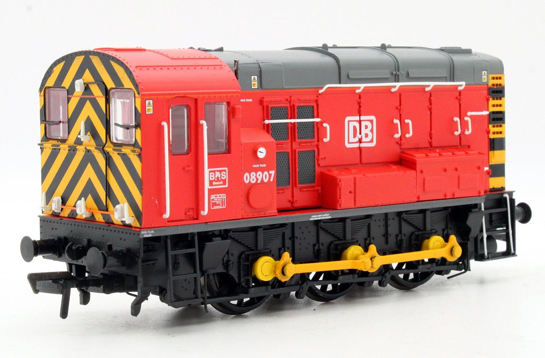 Class 08 08907 DB Schenker Diesel Shunter Locomotive