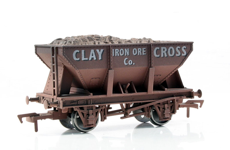 Clay Cross 24 Ton Steel Ore Hopper Wagon - Weathered