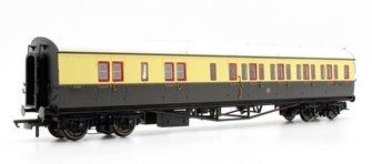 GWR Collett Coach Corridor Brake Third Class RH '5089', Chocolate & Cream