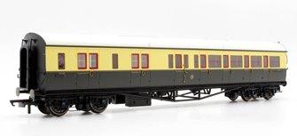 GWR Collett Coach Corridor Brake Third Class LH '5090', Chocolate & Cream