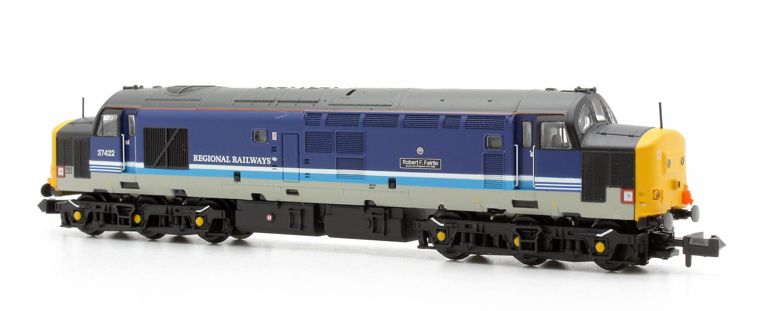 Class 37/4 37422 'Robert.F.Fairlie' Regional Railways Diesel Locomotive