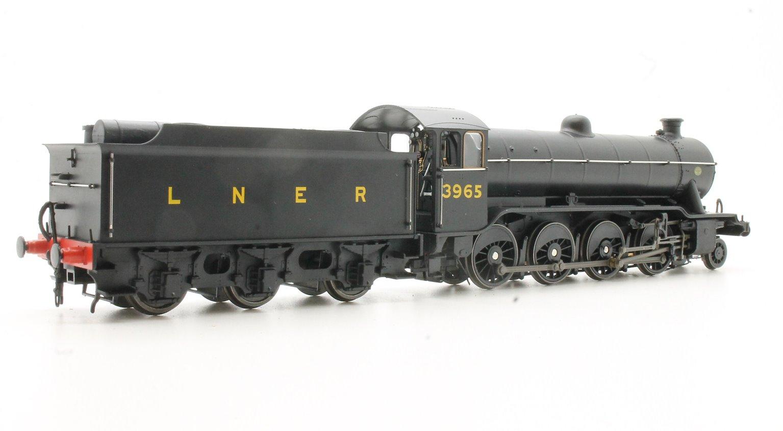 LNER Class 02/3 'Tango' 2-8-0 #3965 LNER Black - Stepped Tender