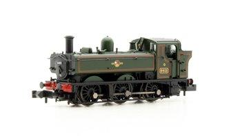Class 64xx 0-6-0 Pannier Tank #6412 BR Lined Green Late Crest