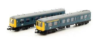 Class 108 2 Car DMU BR Blue - DCC Sound