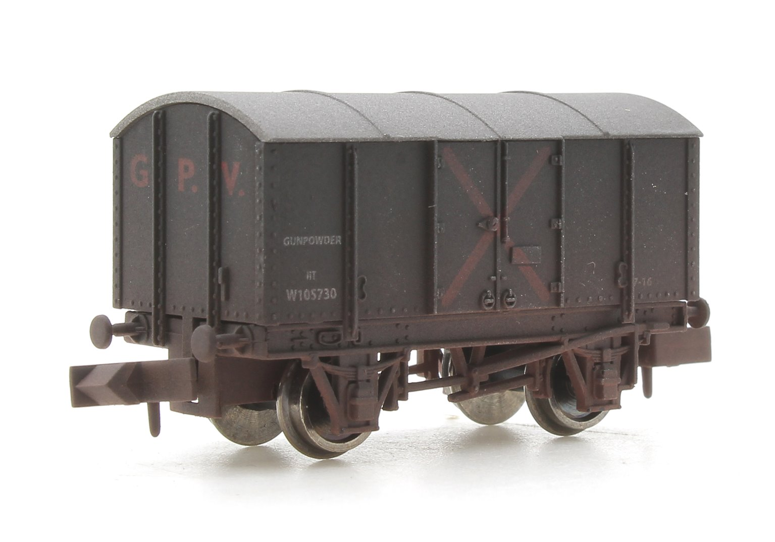 Gunpowder Van GWR W105730 Weathered