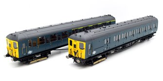 BR 2-HAL '2623' 2 Car Electric Multiple Unit Train Pack - BR Blue