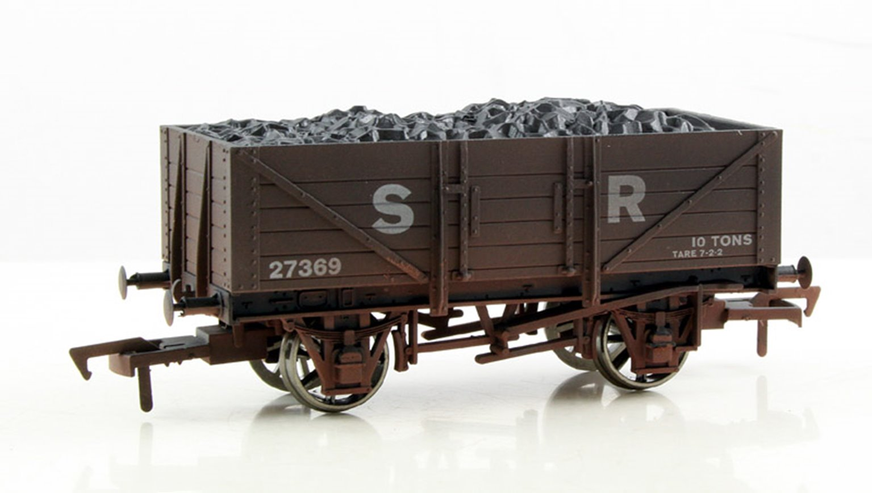 SR #27369 5 Plank Wagon - Weathered