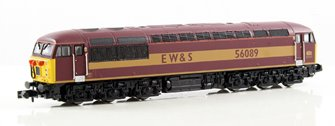 Class 56 (Doncaster built) EW&S #56089 - DCC Fitted