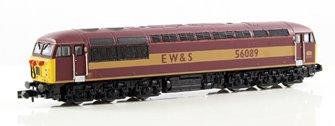 Class 56 (Doncaster built) EW&S #56089