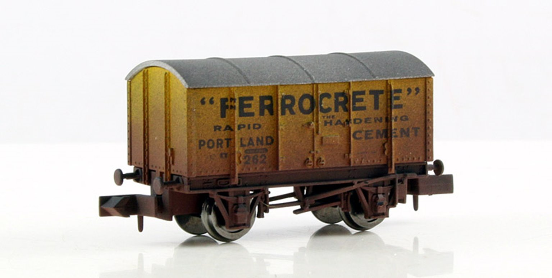 Ferrocrete Gunpowder Van (weathered)