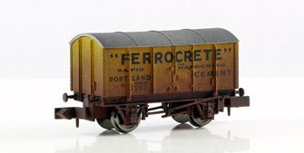 Ferrocrete Gunpowder Van (weathered)
