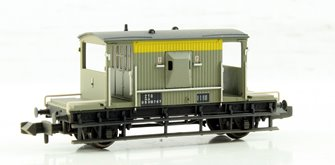20 Ton Brake Van BR Grey & Yellow (Dutch) Weathered