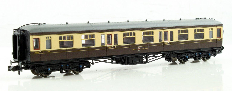 Hawksworth 3rd Class Corridor GWR Chocolate & Cream
