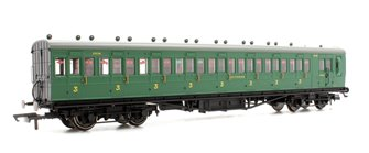 SR 58' Maunsell Rebuilt (Ex-LSWR 48') Eight Compartment Brake Third Class Coach '2638' - Set 44, SR Green