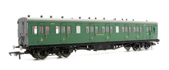 SR 58' Maunsell Rebuilt (Ex-LSWR 48') Six Compartment Brake Composite Coach '6403' - Set 44, SR Green
