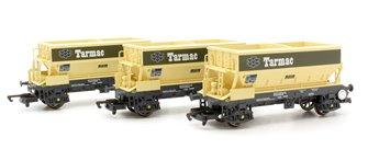 PGA Hopper Wagons, Tarmac - Three Wagon Pack