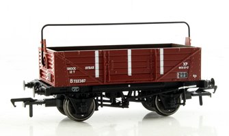 12 Ton Shock Absorbing Open Wagon BR Bauxite (Late)