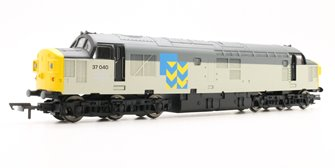 BR Co-Co '37040' Class 37 - BR Railfreight with TTS Sound