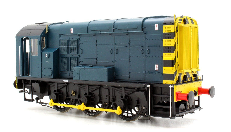 Class 08 BR Blue No Ladder Unnumbered DCC Sound