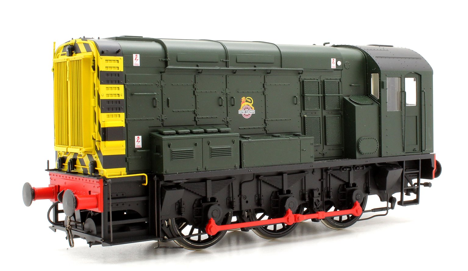 Class 08 BR Green Early Crest Wasp Stripes Unnumbered DCC Sound