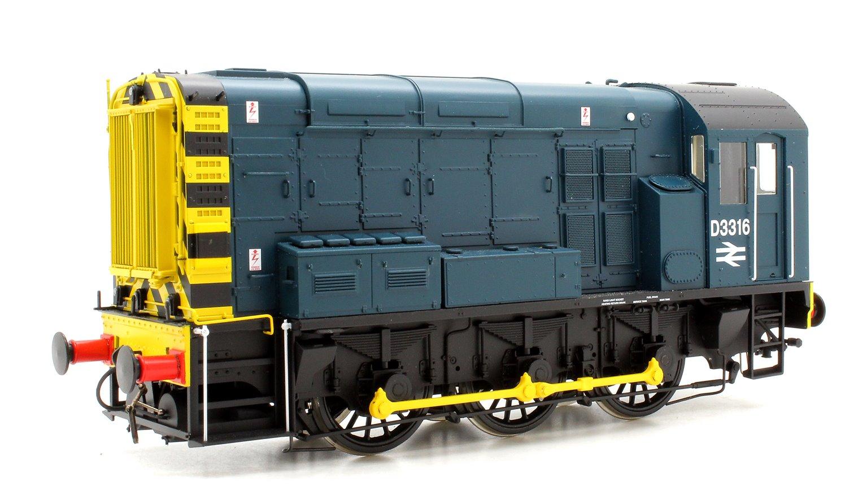 Class 08 BR Blue D3316 No Ladder (DCC-Sound)