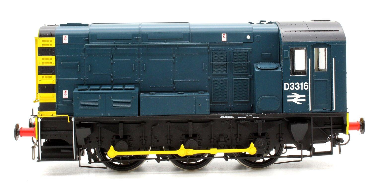 Class 08 BR Blue D3316 No Ladder