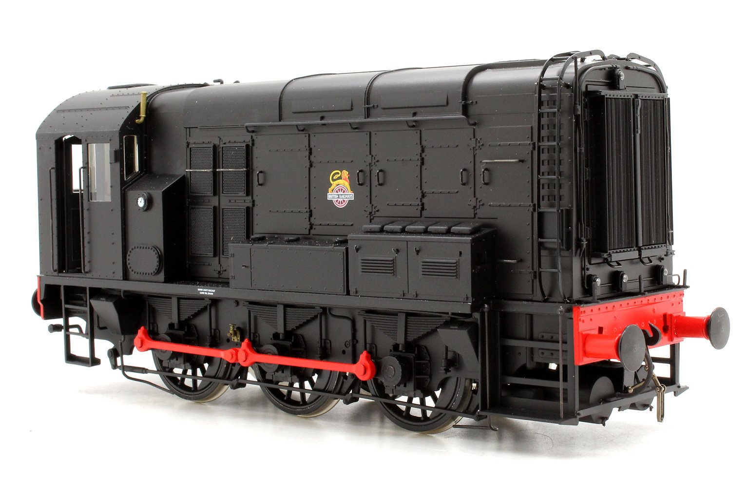 Class 08 BR Black Unnumbered DCC Sound