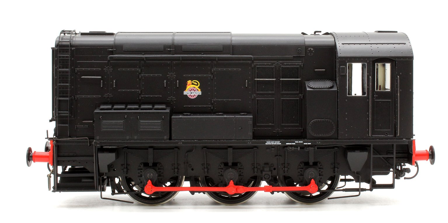 Class 08 BR Black Unnumbered