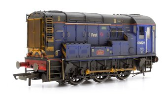 Custom Finished First Great Western Class 08 822 'John' Diesel Shunter Weathered