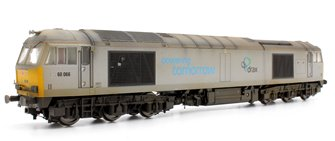Custom Finished Class 60 066 DRAX Co-Co Diesel Locomotive Weathered