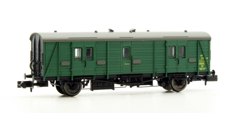Maunsell Coach BR Brake Van SR Green 766