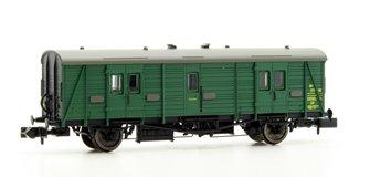 Maunsell Coach BR Brake Van SR Green 750