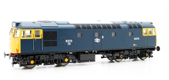 Class 27 - 5373 in Blue Full yellow Ends (no boiler tanks) Diesel Locomotive