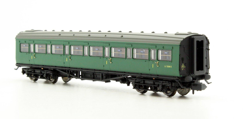 Maunsell Coach BR 1st Class SR Green 7208