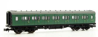 Maunsell Coach BR Composite Class SR Green 5150