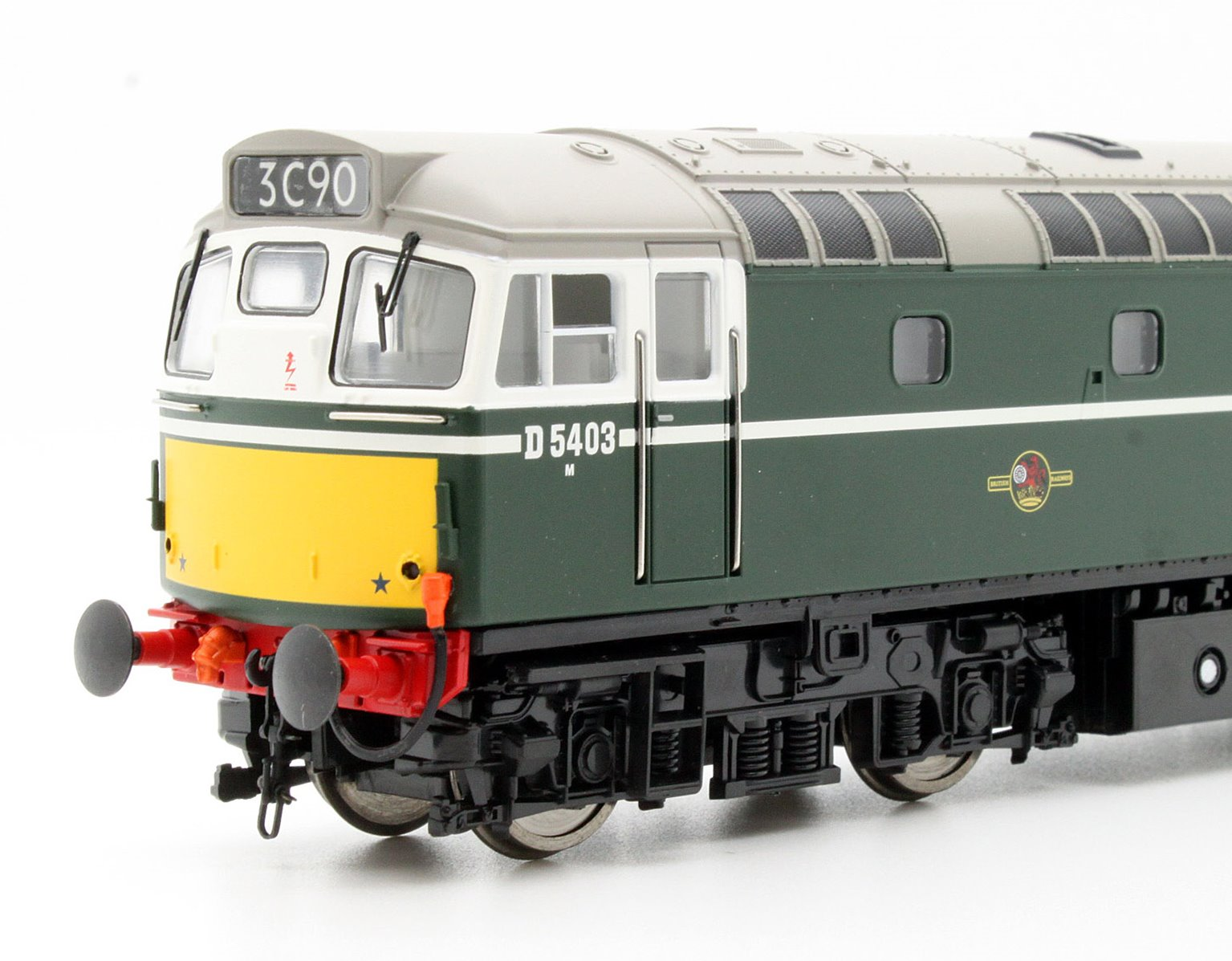 Class 27 D5403 in Green with SYP Diesel Locomotive